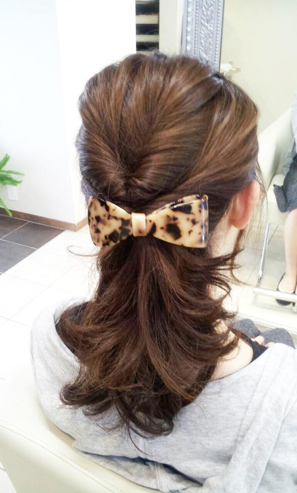 ルーズなまとめ髪 Part-Ⅱ